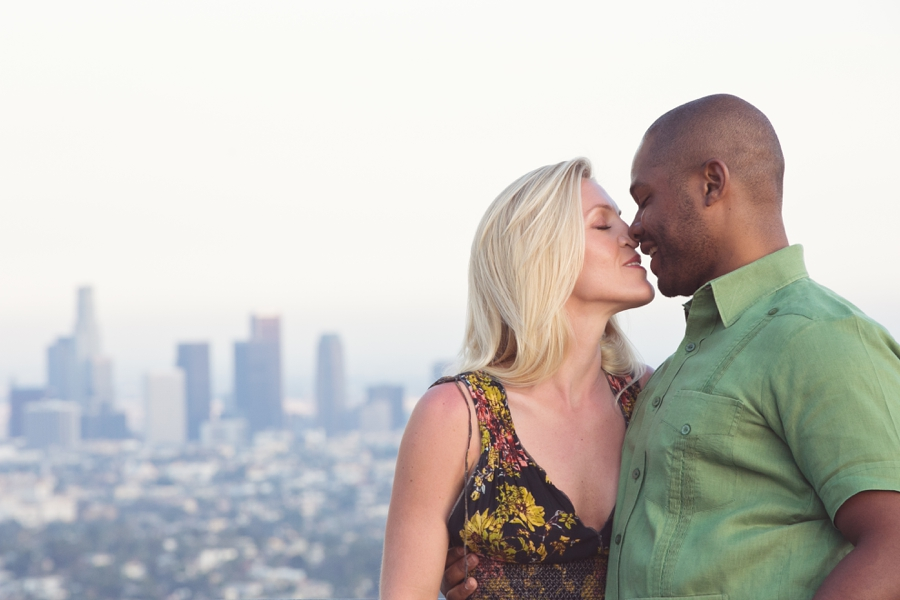 Griffith Park Observatory Engagement Session