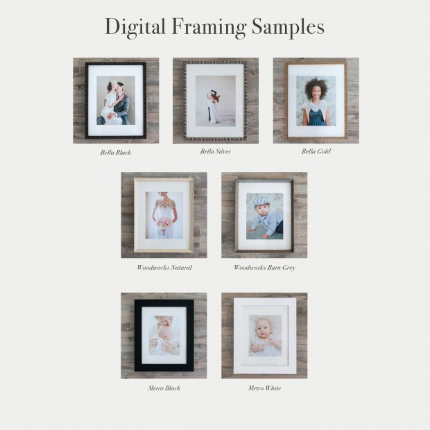 JRP Digital Frame Samples